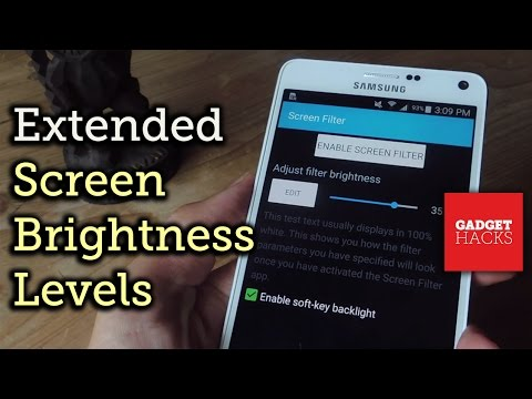 Dim Your Android Display Below the Minimum Brightness HowTo