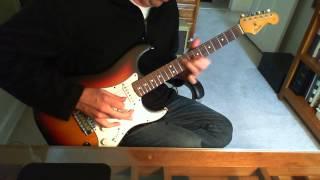 LA Guns The Ballad of Jayne guitar solo (cover)