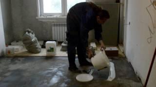Клею плиты OSB 3 на стяжку (под линолеум): Ремонт своими руками