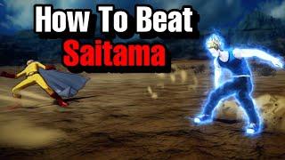 How To Beat Saitama Secret Final Boss! One Punch Man Game