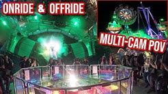 Mr. Gravity (Oberschelp) - Onride & Offride [Nachtfahrt | Multi-Cam POV] - Cranger Kirmes 2019