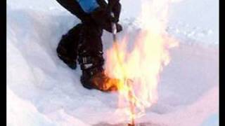 Fire and Ice: Permafrost Melt Spews Combustible Methane