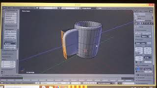 Урок по Blender 3d часть 1 моделирование кружки