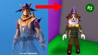 I MAKE THE NEW FORTNITE SKIN IN ROBLOX BABY VITA BUYS ROBUX PC ROLEPLAY HALLOWEEN