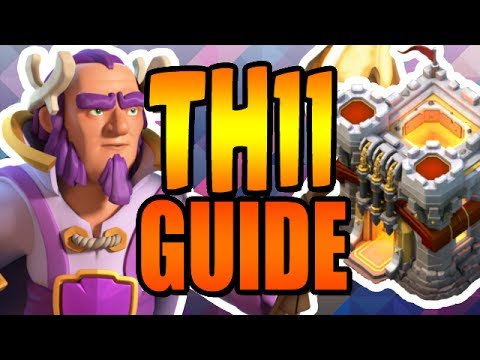 ULTIMATE TH11 Upgrade Guide & Lab Guide JULY 2017 Clash of Clans