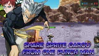 Sprite Garou from One Punch Man   Naruto Senki   [DOWNLOAD]