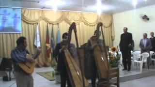 Argeu e Jardelino   Solo Harpa Paraguaia   Rude Cruz