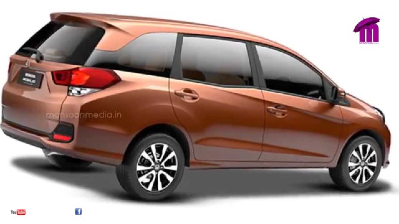 All new honda mobilio the stylish 7 seater in indian for Honda 7 passenger