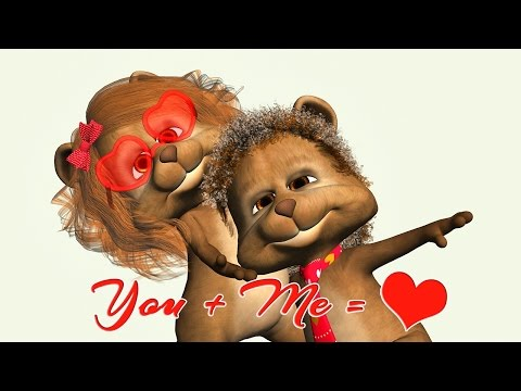💕 Funny Valentine's Day greetings with Teddy bears