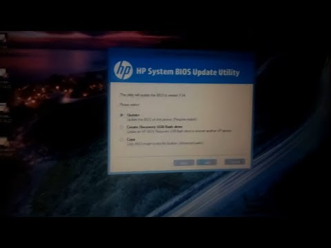 How To Update Bios In Hp Laptop Youtube