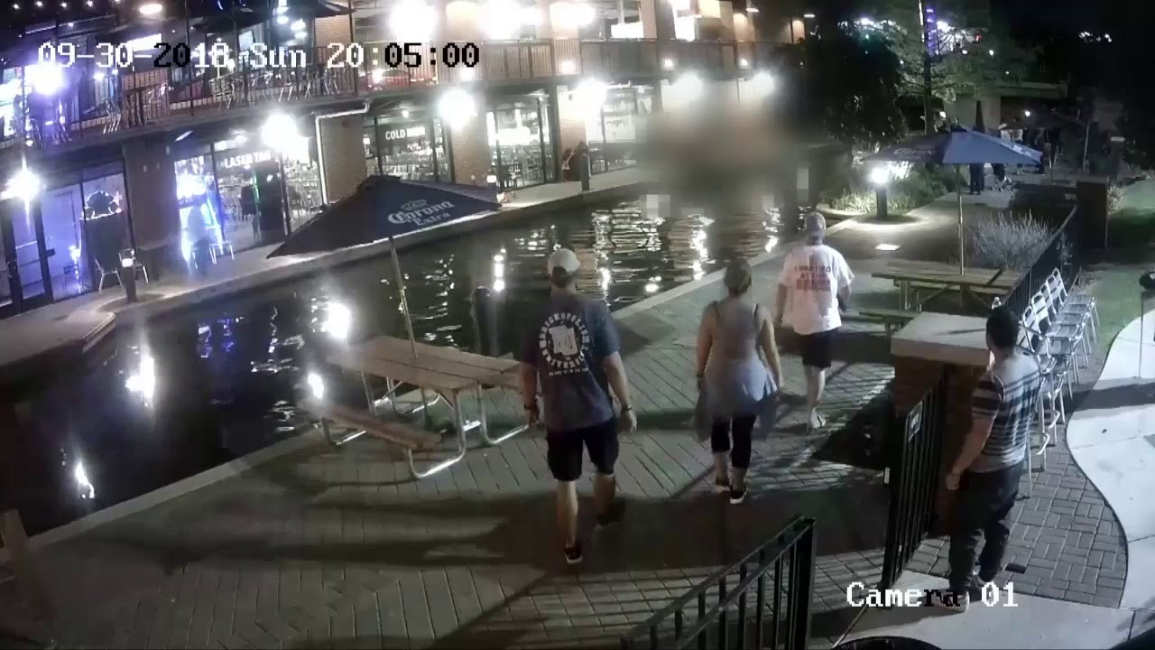 Canal accident video released
