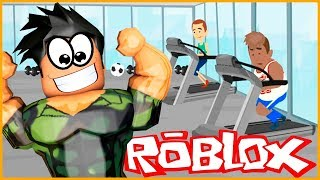 EVERYONE RUN TO THE GYM /// Roblox Gym Tycoon / Ercan Oz w Game Line