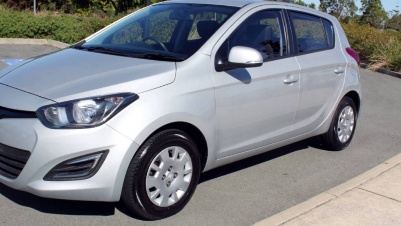 2014 hyundai i20 pb my14 active silver 4 speed automatic. Black Bedroom Furniture Sets. Home Design Ideas