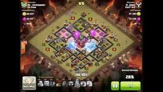 Clash of Clans - Clan Wars - [East 414] jane vs -strom- [SS Clan] by Lavaloon Attack on TH10