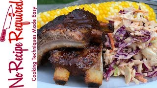 How to Make Baby Back Ribs the Easy Way - NoRecipeRequired.com