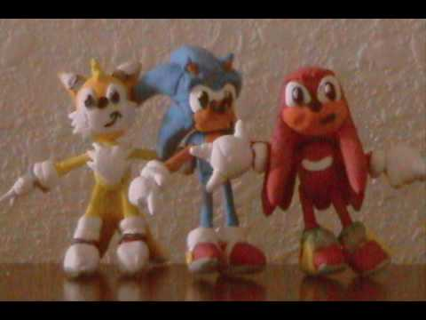 Clay Sonic the