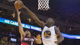 Draymond Green Defensive Highlights Vs Blazers - 2017 Playoffs