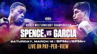 Spence vs Garcia Fight Preview