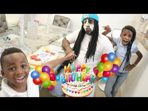 WE PRANKED OUR DAD ON HIS BIRTHDAY
