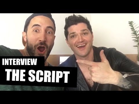 Interview THE SCRIPT: Danny speaks German!