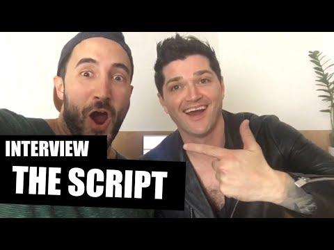 Interview THE SCRIPT: Danny speaks German!