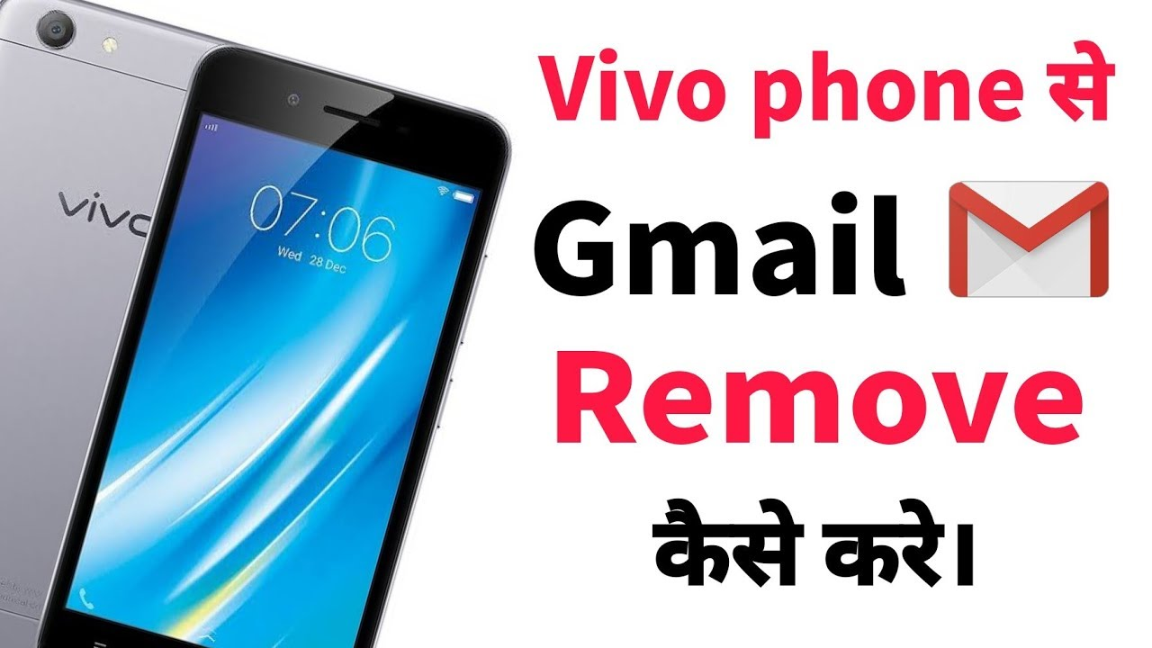 How to logout gmail account in Vivo y51L, vivo y21L And other vivo phone in hindi