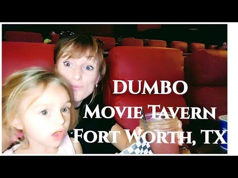 DUMBO. Movie And Dinner @Movie Tavern, Fort Worth TX