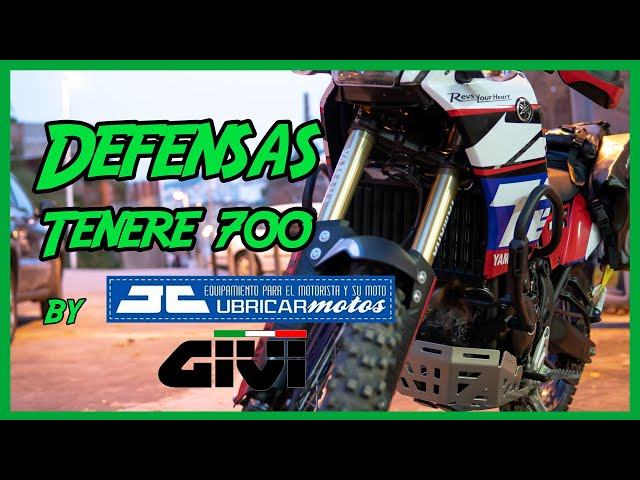 DEFENSAS MOTOR Givi Yamaha Tenere 700 t7