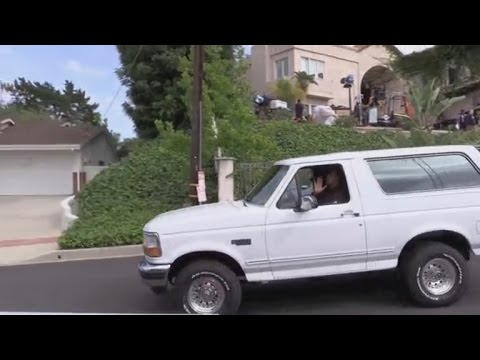 Watch O.J. Simpson's Bronco Ride Again! Behind The Scenes Of 'American Crime Story'