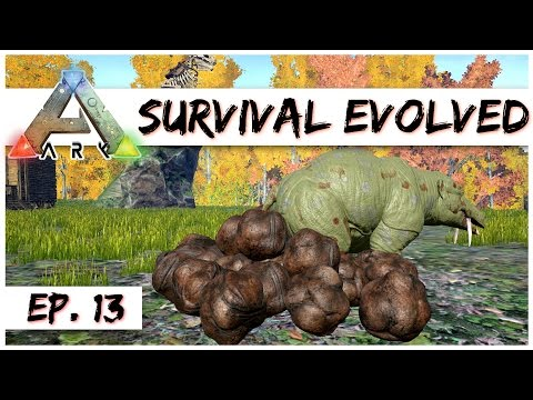 Ark Survival Evolved - Ep. 13 - Poop Fertilizer! - Gameplay - Let's Play