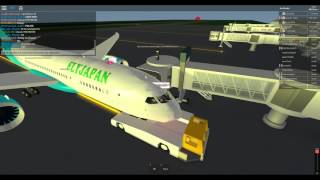 [ROBLOX] Working at FlyJapan!