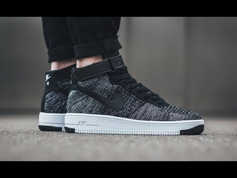 nike wmns air force 1 ultra flyknit oreo