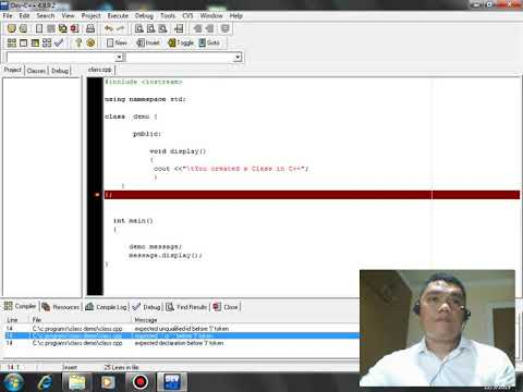 Class in C++ thumbnail