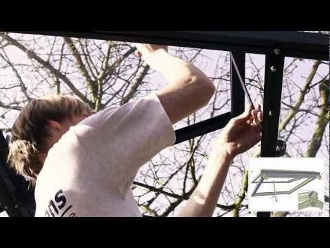 Janssens Greenhouse Roof Window