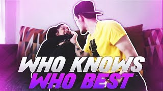 WHO KNOWS WHO BEST CHALLENGE!! ~ W/ Girlfriend (GONE WRONG)
