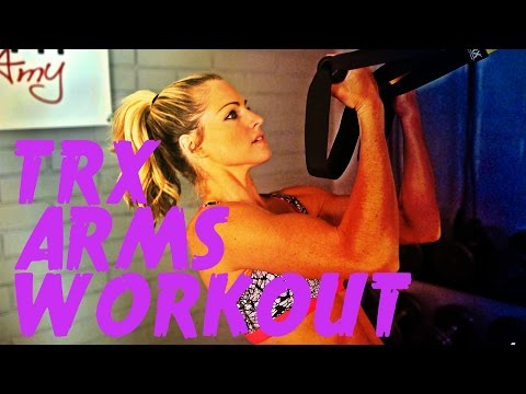 TRX Workout to Tone Your Arms in a 15 Minute Workout