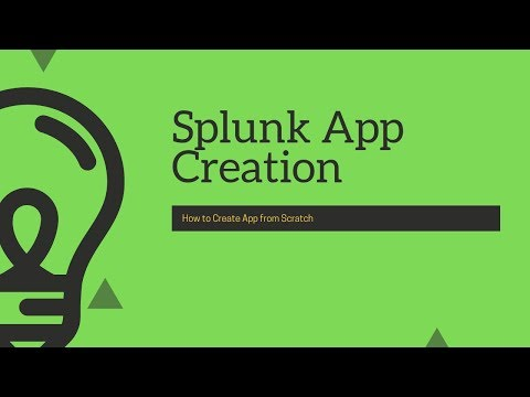 Splunk Basic: How To Create App