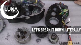 Bafang Ultra  Mid Drive Tear Down and Comparison BBSHD