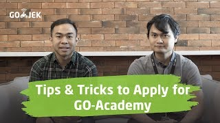 Tips & Tricks to Apply for GO-Academy