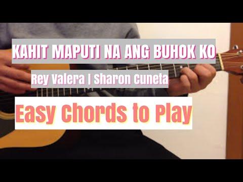 Kahit Maputi Na Ang Buhok Ko Chords Easy To Play | Rey Valera ...