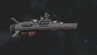 Space Engineers - Space Battleship Yamato  tribute