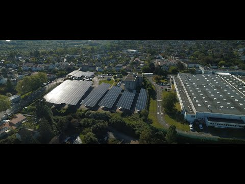 Producing Renewable Electricity with Solar Energy on Saft's Site in Poitiers, France