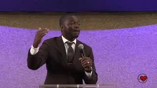 Pastor Clinton McFarland Preaching For Brandon Jacobs