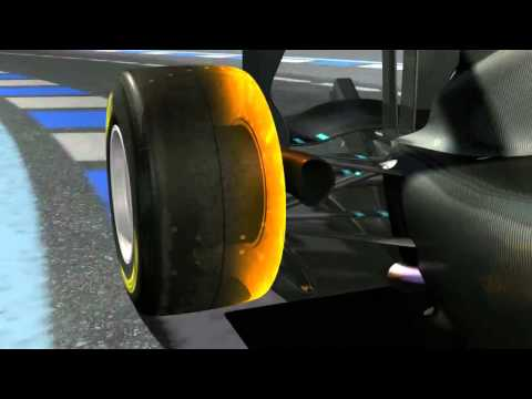 F1 Pirelli Tyres Compared to Standard Road Tyres