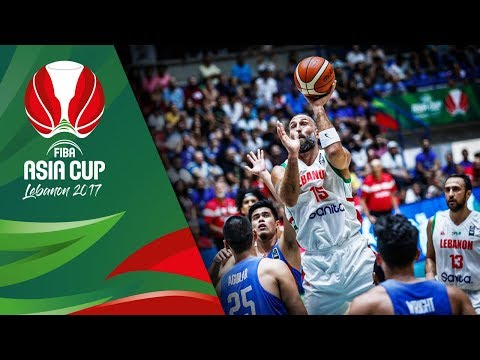 Lebanon v Philippines - Highlights - Classification 5-8 - FIBA Asia Cup 2017