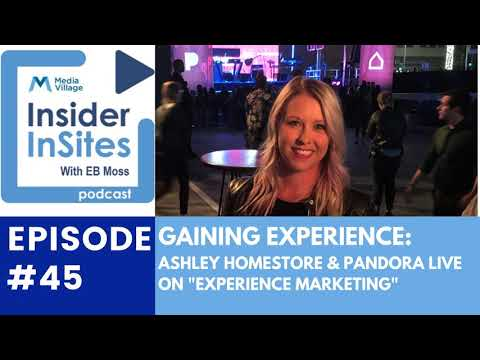 Thumbnail for video of article: Gaining Experience: Pandora Live and Ashley HomeStore Turn on the Sound