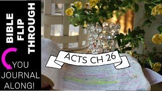BIBLE FLIP THROUGH & BIBLE STUDY/ YOU CAN BIBLE JOURNAL!