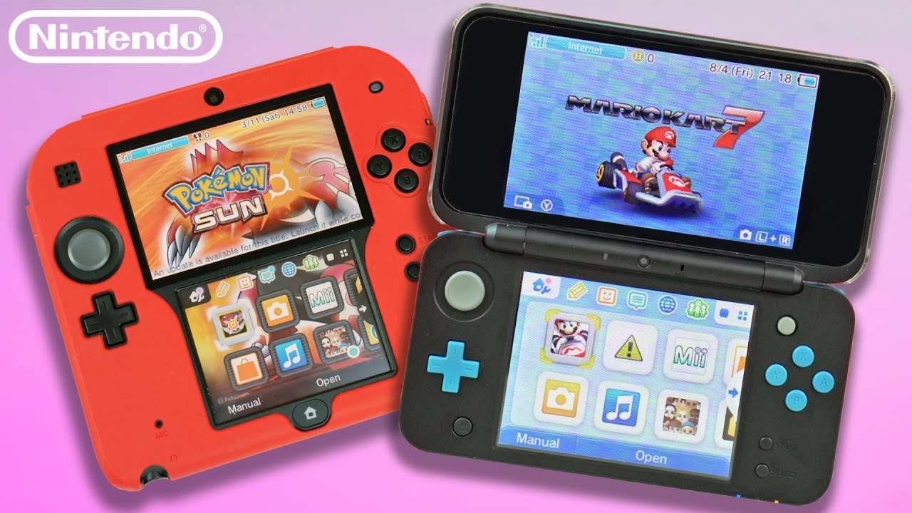 New Nintendo 2DS XL vs. Original 2DS | Which is the BEST Buy!? - YouTube