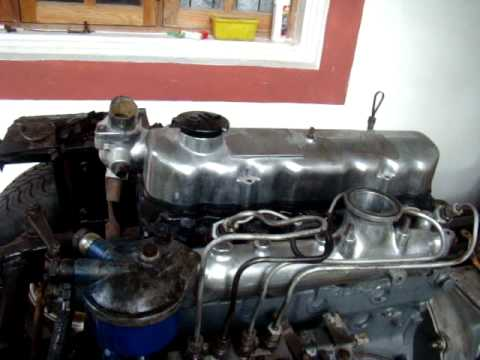 mitsubishi jeep 4dr5 engine first injector test youtube rh youtube com Diesel Engine Repair Manuals Deutz Engine Parts Manual