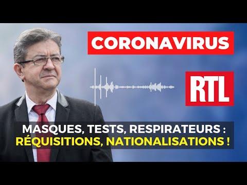 CORONAVIRUS - Masques, tests, respirateurs : réquisitions, nationalisations !